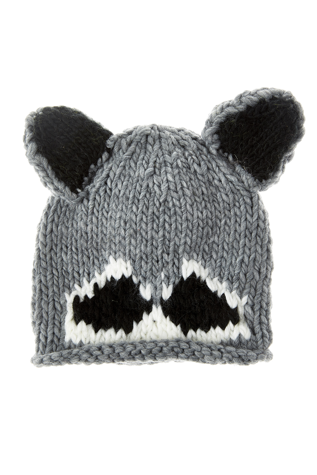 The Blueberry Hill Baby Raccoon Hat from Fort Greene by Fort Greene ... 7584fb875d3