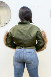 ATHINA  THE BOMBER - Side cropped