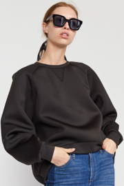 Cynthia Rowley The Bonded Sweatshirt - Product Mini Image