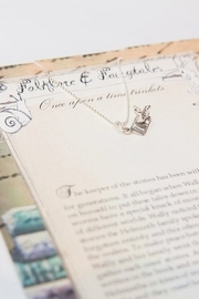 folklore & fairytales The book worm storybook necklace - Front full body