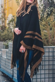 Leto The Britt Poncho - Front cropped