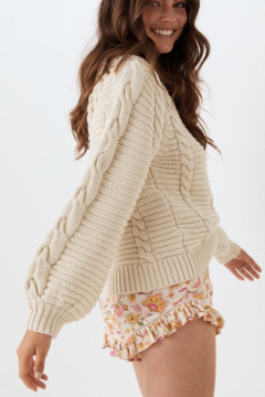 Spell & the Gypsy Collective The Brunch Cable Knit Sweater - Product List Image