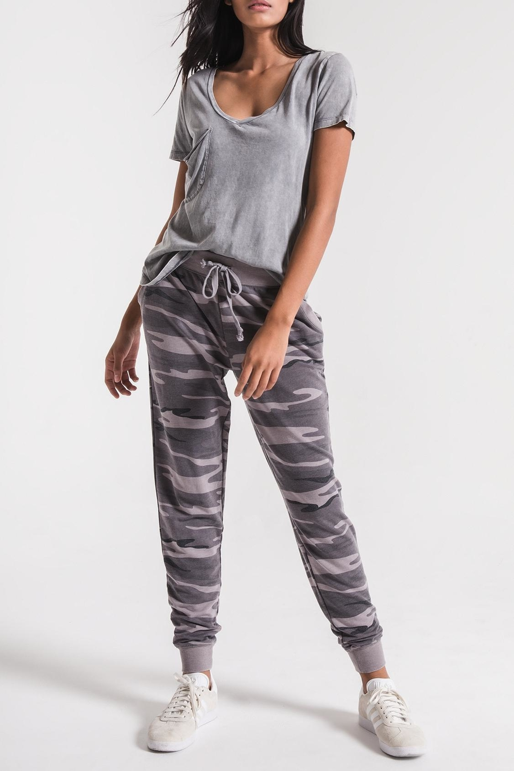 z supply The Camo Jogger - Front Full Image