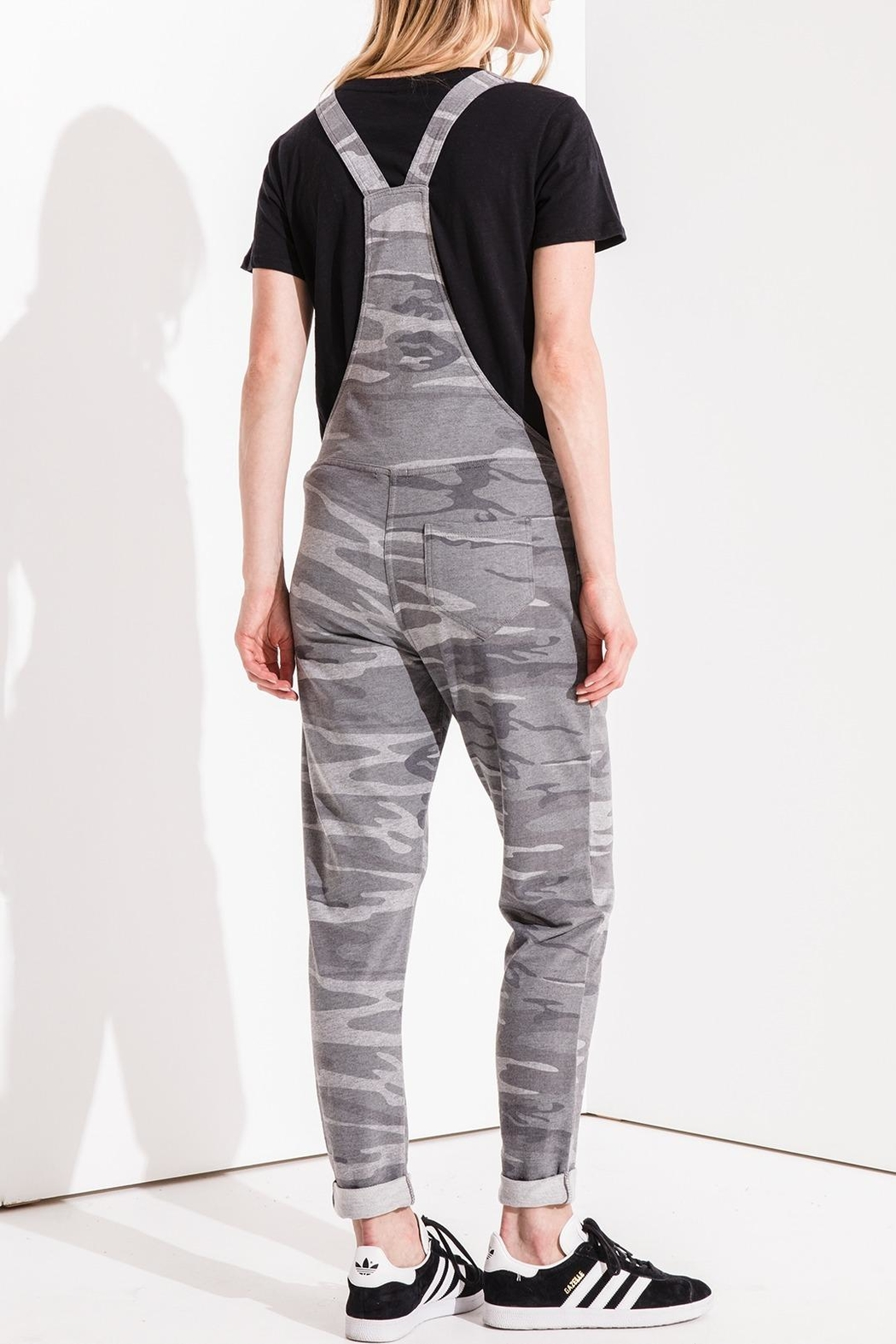 z supply The Camo Overalls - Front Full Image