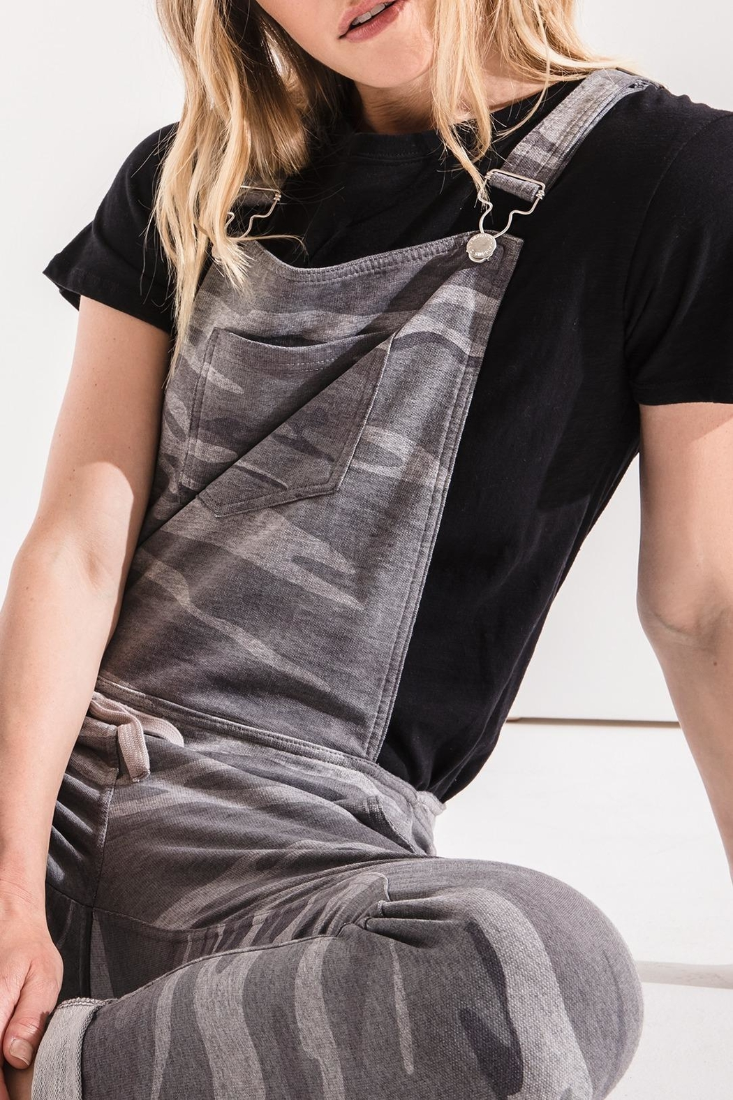 z supply The Camo Overalls - Side Cropped Image