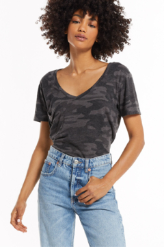 z supply The Camo Pocket Tee - Product List Image