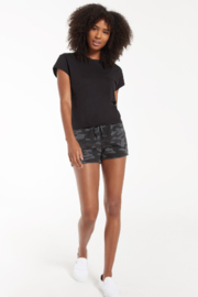 z supply The Camo Sporty Short - Front full body