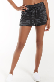 z supply The Camo Sporty Short - Product Mini Image