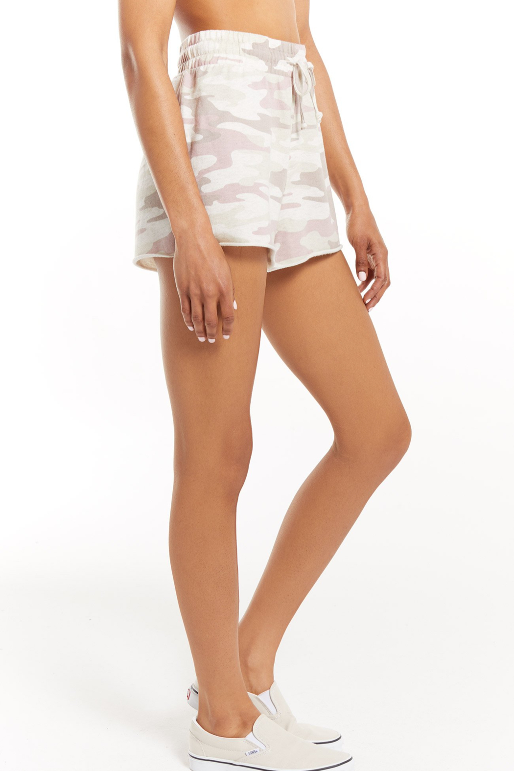 z supply The Camo Sporty Short - Back Cropped Image