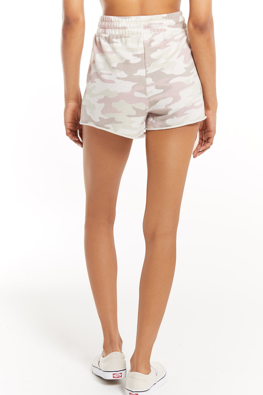 z supply The Camo Sporty Short - Side Cropped Image