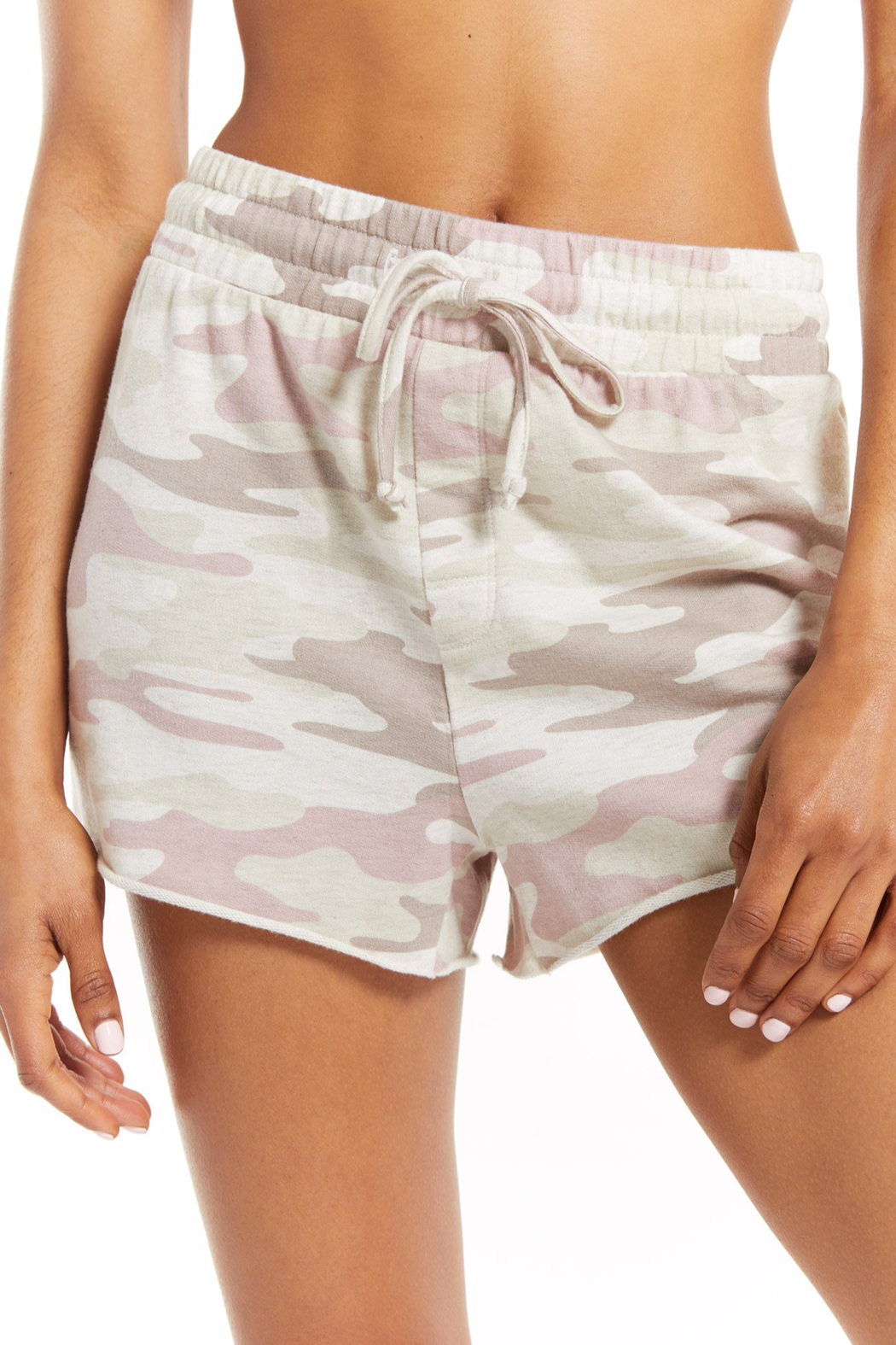z supply The Camo Sporty Short - Front Full Image