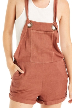 Patrons of Peace The Cappuccino Overalls - Product List Image