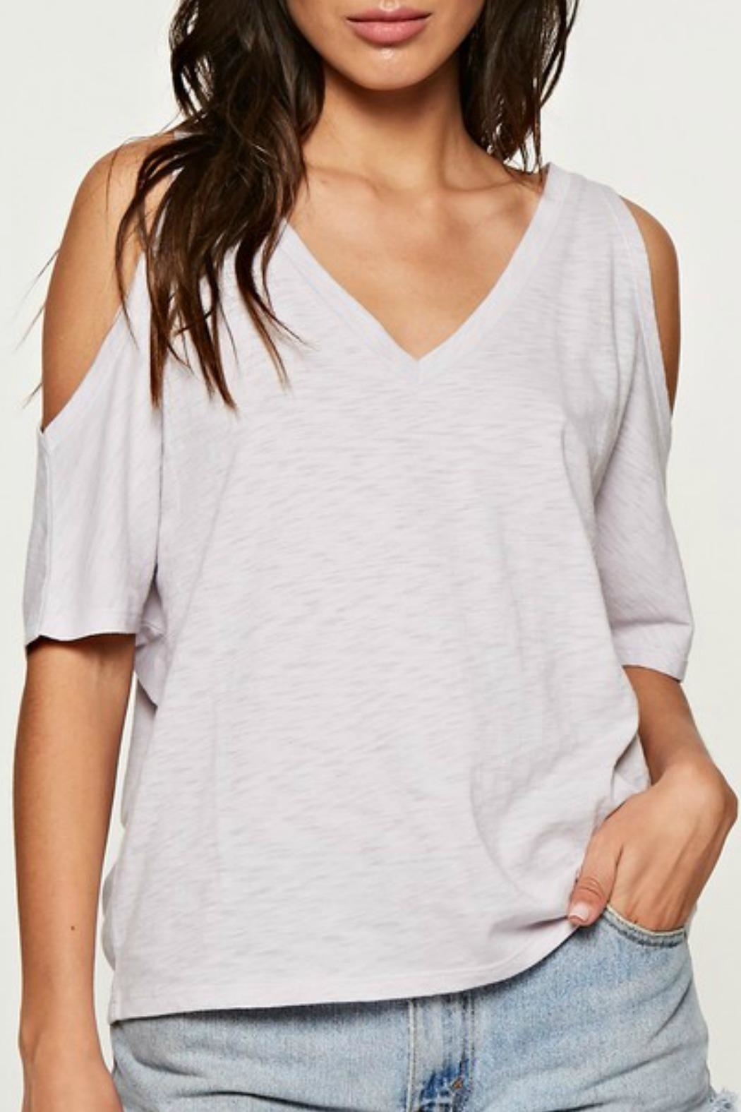 Love Stitch The Casual Cold-Shoulder - Main Image