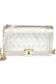 be clear handbags The Charlotte Large - Front cropped