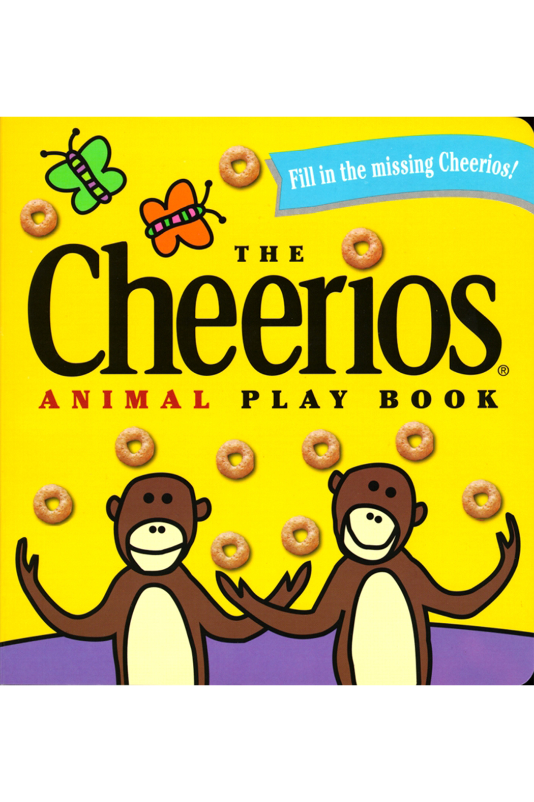 Simon and Schuster The Cheerios Animal Play Book - Main Image