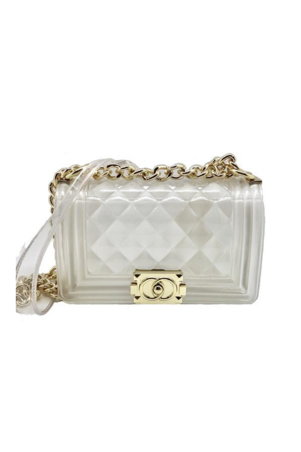 be clear handbags the chloë-  Medium - Front Cropped Image
