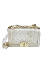 be clear handbags the chloë-  Medium - Product Mini Image