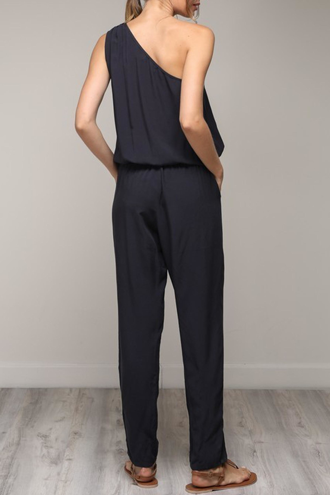 Nadia The Claire Jumpsuit - Back Cropped Image