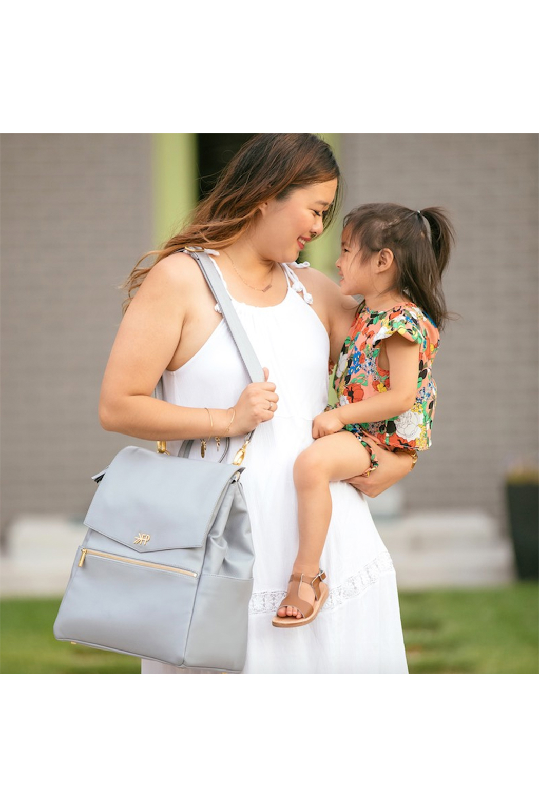 Freshly Picked The Classic Diaper Bag - Front Full Image