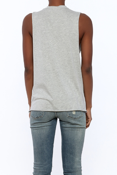 Shoptiques Product: Gray Graphic Tee