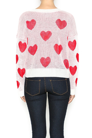 The Classic I Heart You Sweater - Back cropped