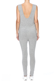 The Classic Knee Slit Jumpsuit - Back cropped