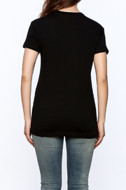 The Classic Rose Graphic Tee - Back cropped