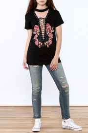 The Classic Rose Graphic Tee - Front full body