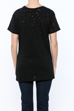 Shoptiques Product: Rose Embroidered Tee