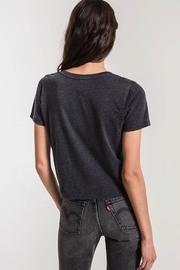z supply The Classic Skimmer Crop Tee - Front full body