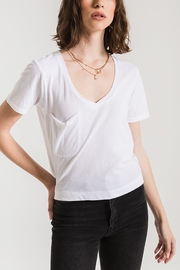 z supply The Classic Skimmer Crop Tee - Product Mini Image