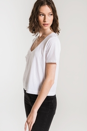 z supply The Classic Skimmer Crop Tee - Side cropped