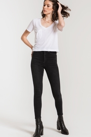 z supply The Classic Skimmer Crop Tee - Back cropped