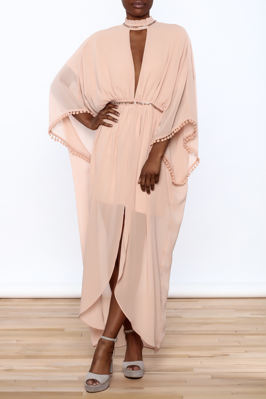 807a26978b65a The Clothing Co Pink Modern Kimono Dress from Louisiana by Bella ...