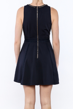 The Clothing Co Navy Caroline Dress - Alternate List Image