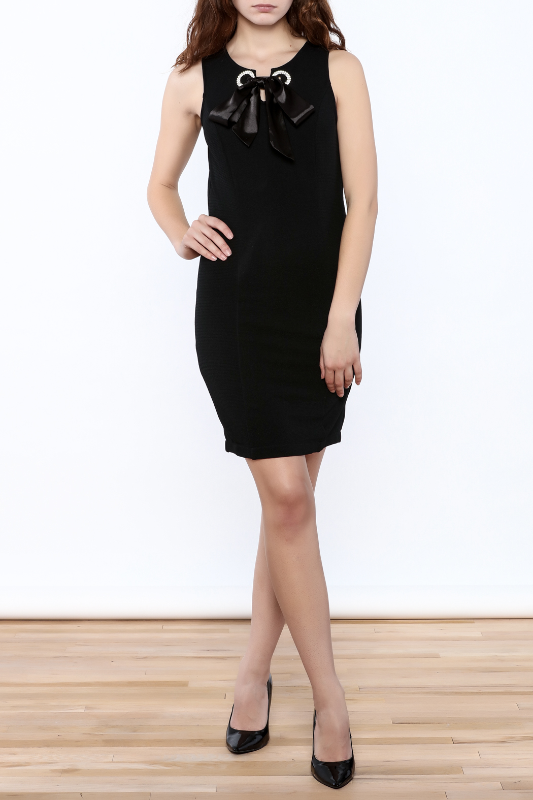 the clothing company Crystal Point Dress - Front Full Image