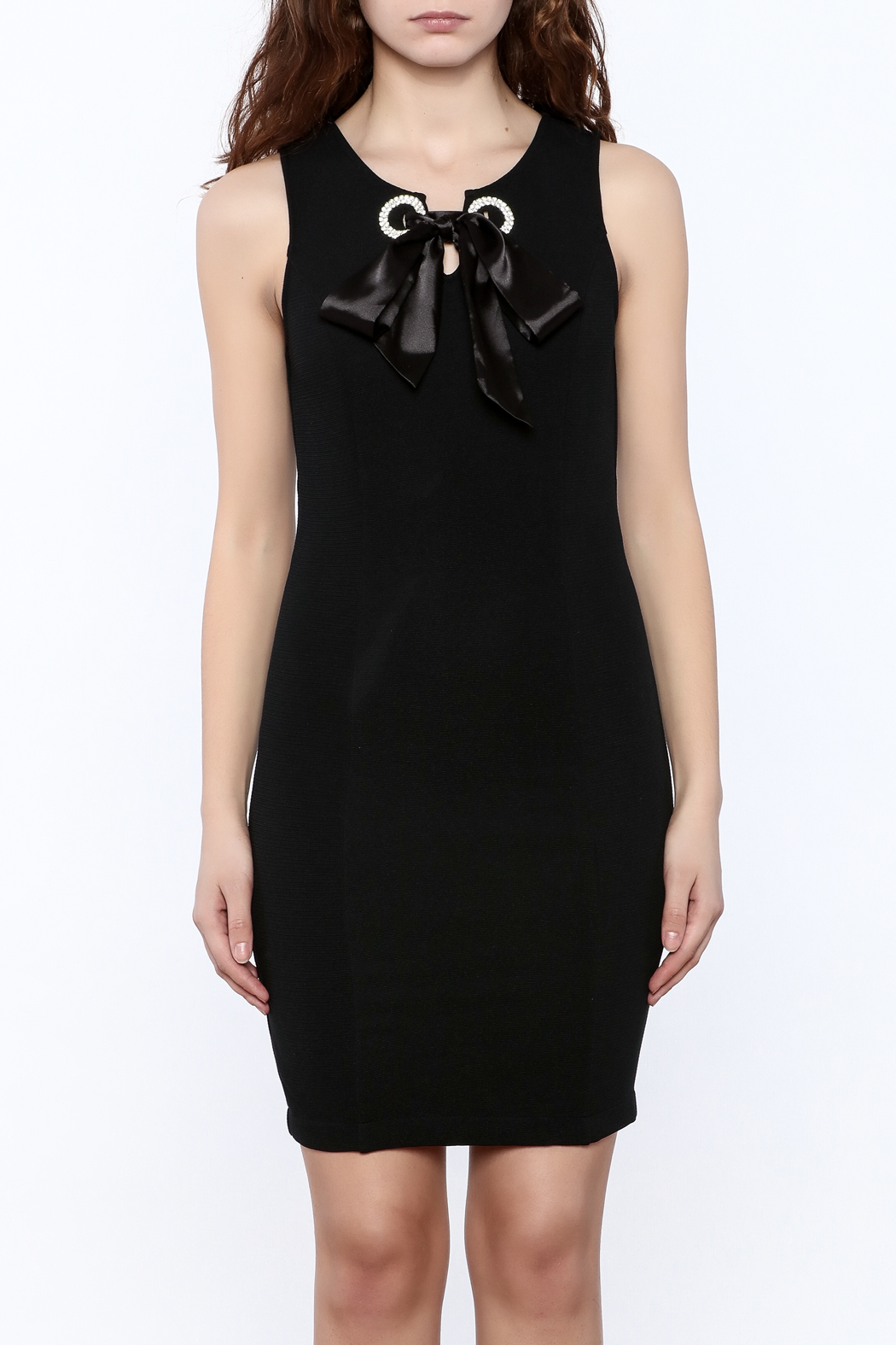 the clothing company Crystal Point Dress - Side Cropped Image