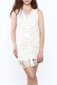 the clothing company White Lace Dress - Product List Image