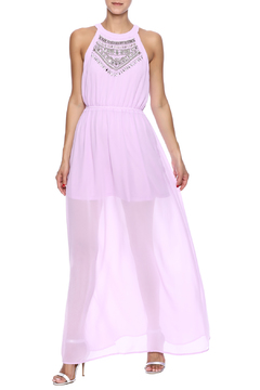 the clothing company Lavender Beaded Maxi - Product List Image