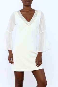 the clothing company V-Neck Bell Sleeve Dress - Product List Image