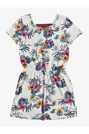 Roxy The Clouds Short Sleeve Dress - Front cropped