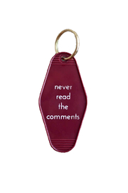 He Said, She Said The Comments Keychain - Product Mini Image