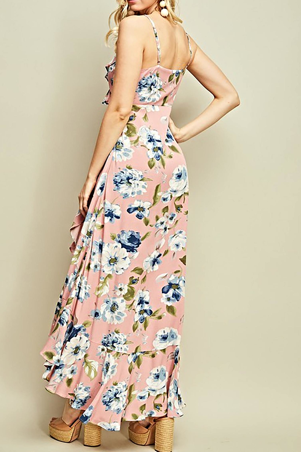 Entro The Corinne Maxi - Back Cropped Image