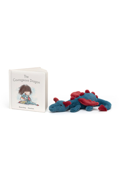 Jellycat THE COURAGEOUS DRAGON BOOK - Alternate List Image
