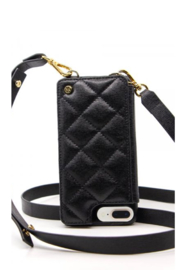 Goldno.8 The Crossbody Phone Case - Front cropped