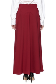 The Cue A Line Maxi Skirt - Back cropped