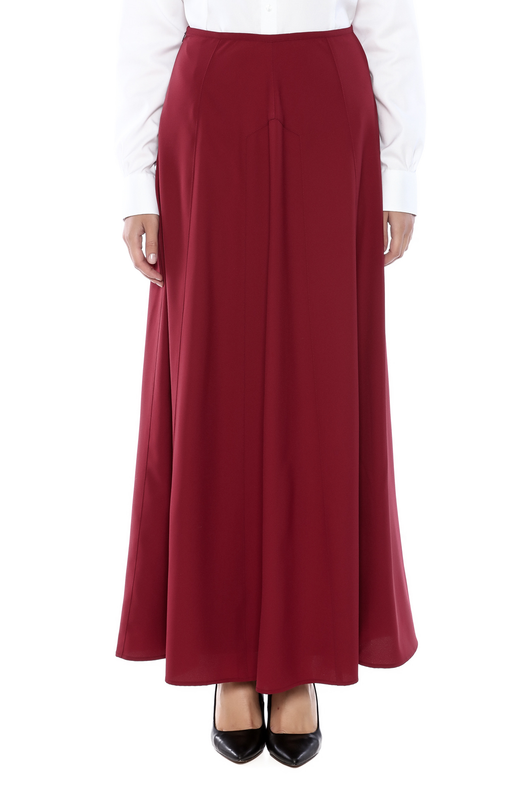 The Cue A Line Maxi Skirt from New Jersey by Pink Orchid — Shoptiques