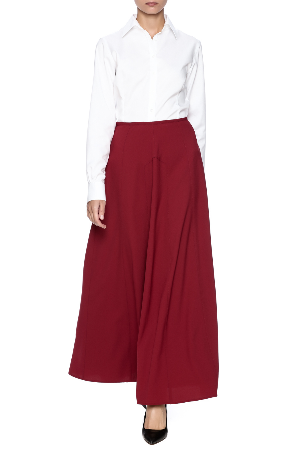 The Cue A Line Maxi Skirt - Front Full Image