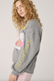 Daydreamer  THE CURE BOYS DON'T CRY OVERSIZED SWEATSHIRT - Product Mini Image