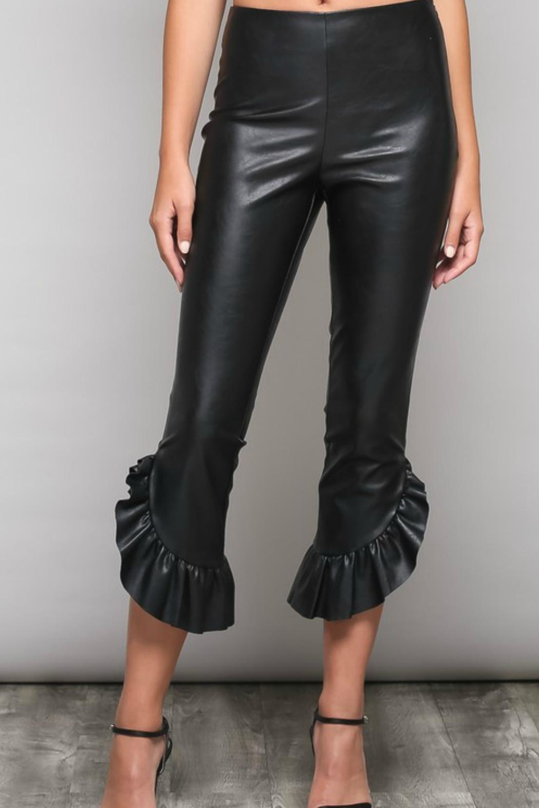 Do & Be The Danielle Pleather-Pants - Main Image